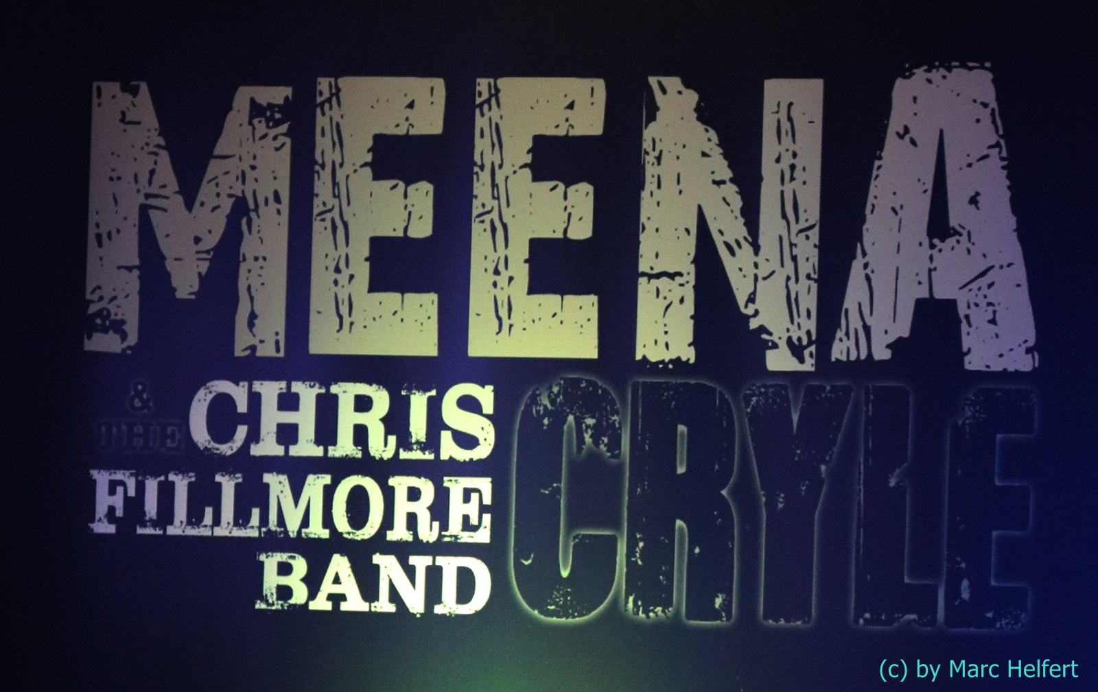 Meena Cryle and Chris Filmore Band